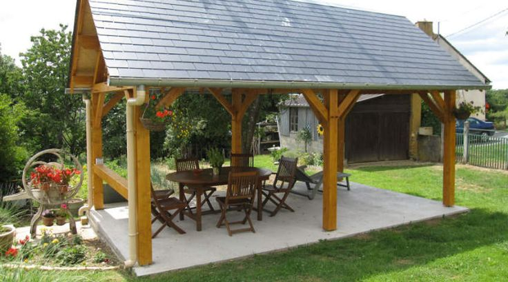1000 ideas about gazebo en bois on pinterest abri spa for Abris de jardin sur mesure
