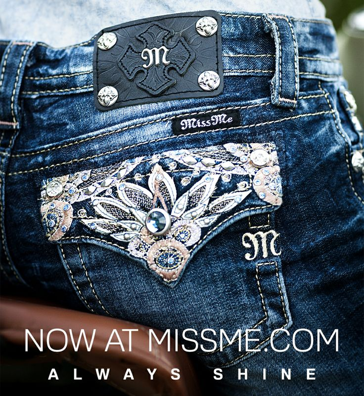 Shop the #MissMeJeans style in our #AlwaysShine campaign!