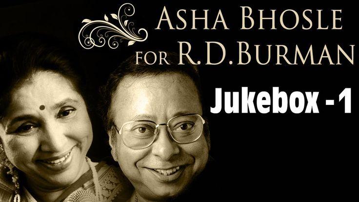 Best of Asha Bhosle songs for R D Burman - Jukebox 1 - Evergreen Hindi R...