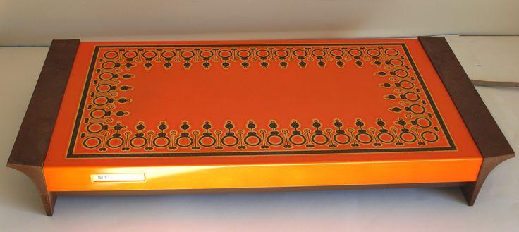 Retro Speedie Orange Food Warmer - 70s The Warming Tray Model F11 - Vintage Funky Kitchen! In Original Box Buffet Table Server by FunkyKoala on Etsy