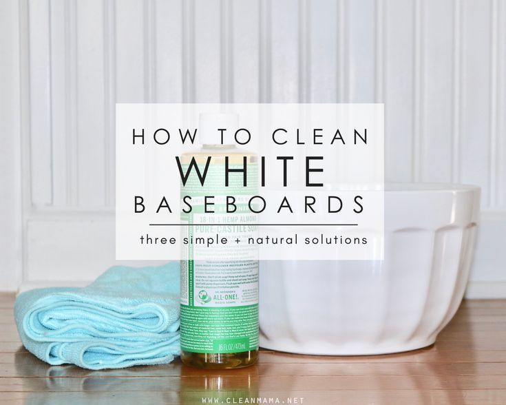 How To Clean Baseboards And Keep Them From Getting Dirty