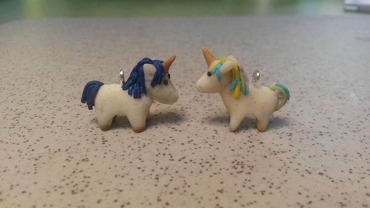 two miniature unicorns...