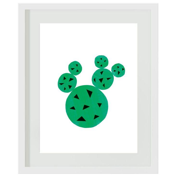Cactus: #boys #girls #green #grey #bedroom #decor #wallart #artprints #cactus #pricklypear #green #succulents