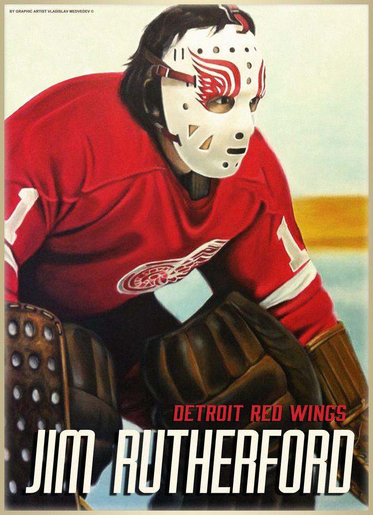 Jim Rutherford #хоккей #вратарь #голкипер #НХЛ #icehockey #goaltender #goalie #detroitredwings #NHL