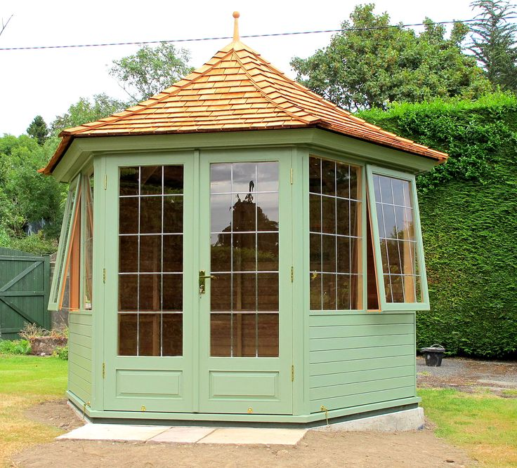 Beauty to be admired and a comfort to be enjoyed. Garden Summerhouse from www.victoriangardenbuildings.com