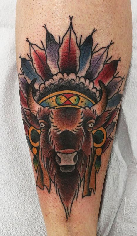 19 best images about tattoos on pinterest the white for Tattoos of buffaloes