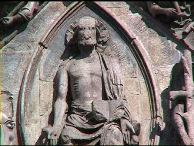 Cristo nella mandorla centrale