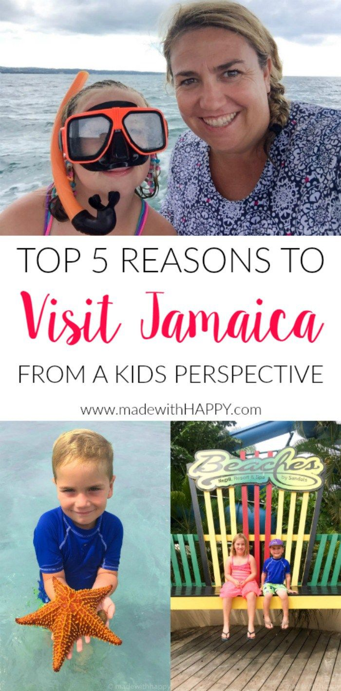 Visiting Beaches Negril Jamaica as a kid | Traveling to Jamaica as a family. | Do you bring kids to Jamaica | All inclusive resorts for families | Bringing young kids to Jamaica | Family Travel to Beaches Jamaica | www.madewithhappy.com