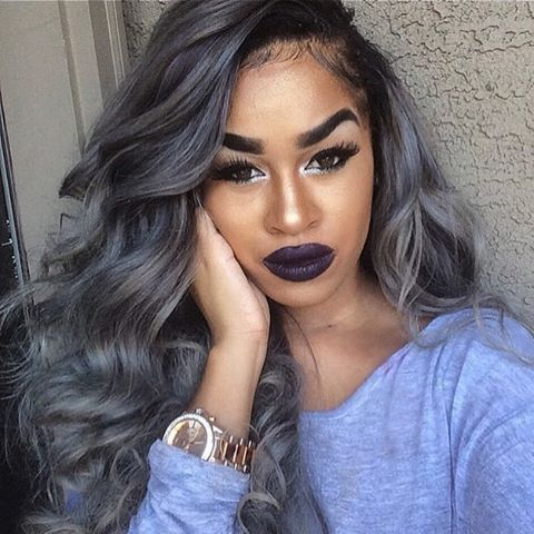 40 best grey weave hair images on pinterest braids texture instagram post by voiceofhair stylistsstyles voiceofhair hair goals gray pmusecretfo Images