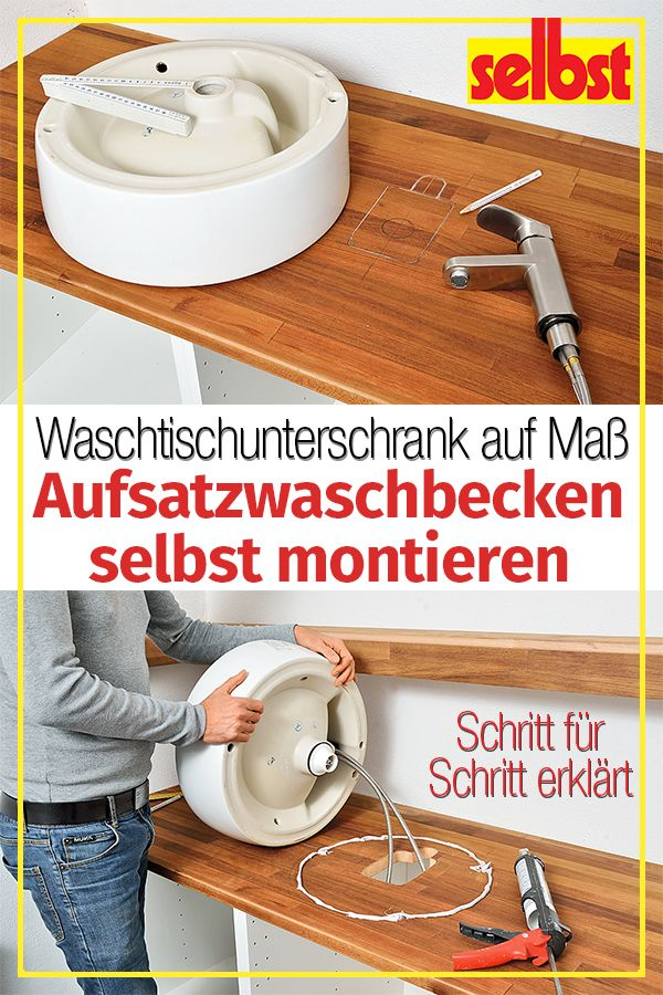 Waschbecken Selbst De Waschbecken Aufsatzwaschbecken Waschtischunterschrank