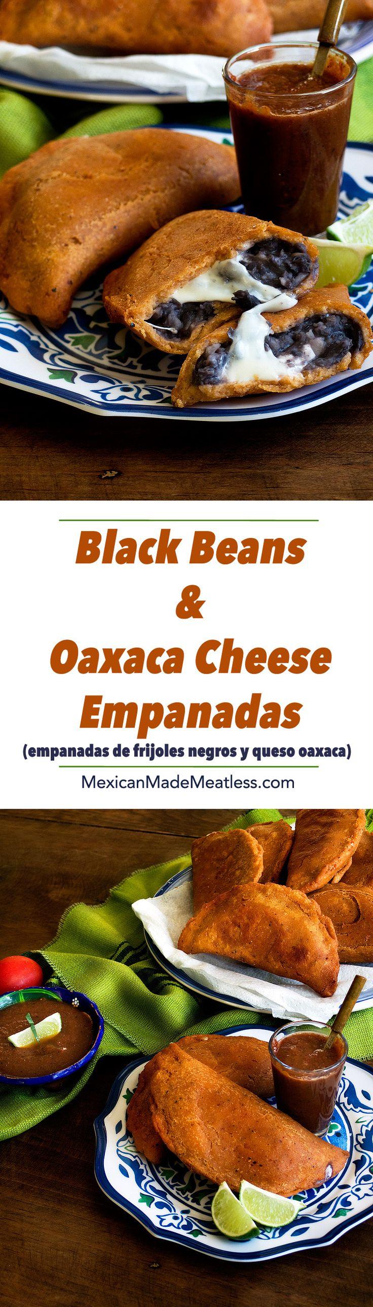 Black Bean and Oaxaca Cheese Empanadas   empanadas de frijoles negros y queso oaxaca