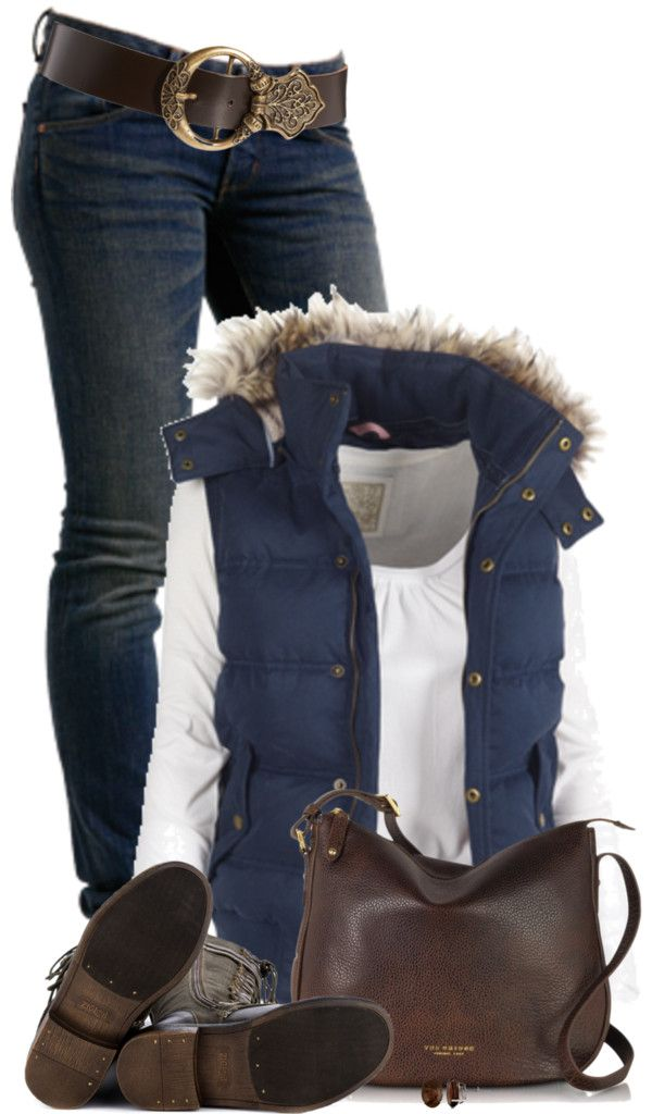Georgina Gilet Casual Fall Outfit