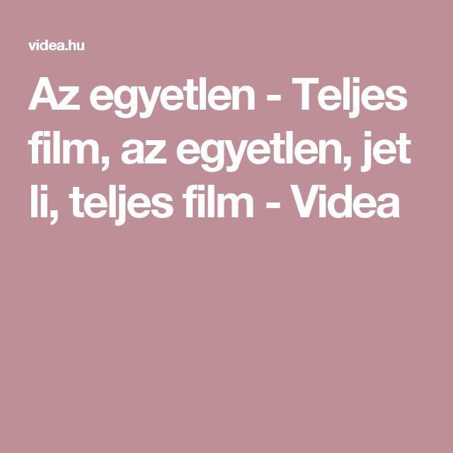 Az egyetlen - Teljes film, az egyetlen, jet li, teljes film - Videa