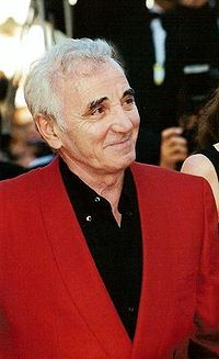 Charles Aznavour french singer, diplomat, one of the best known singers the world
