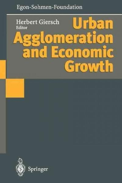 Urban Agglomeration and Economic Growth
