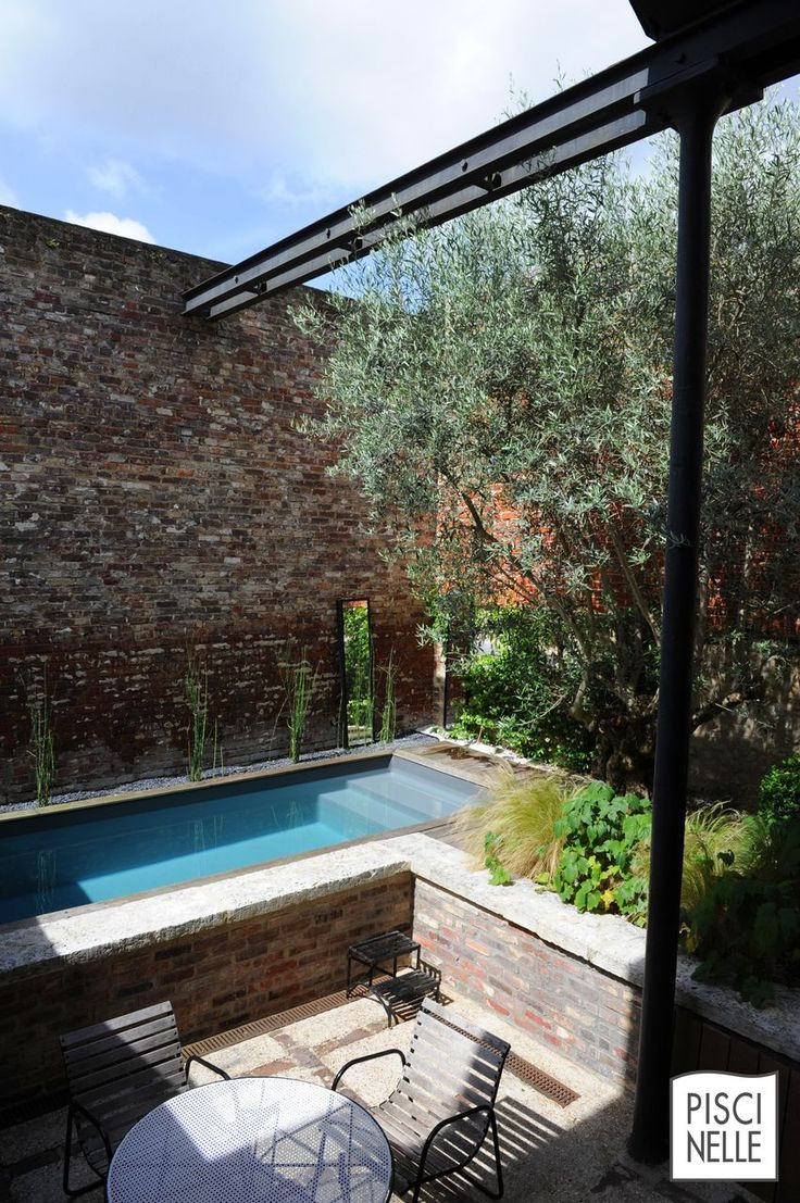 8 best petites piscines de luxe images on pinterest. Black Bedroom Furniture Sets. Home Design Ideas