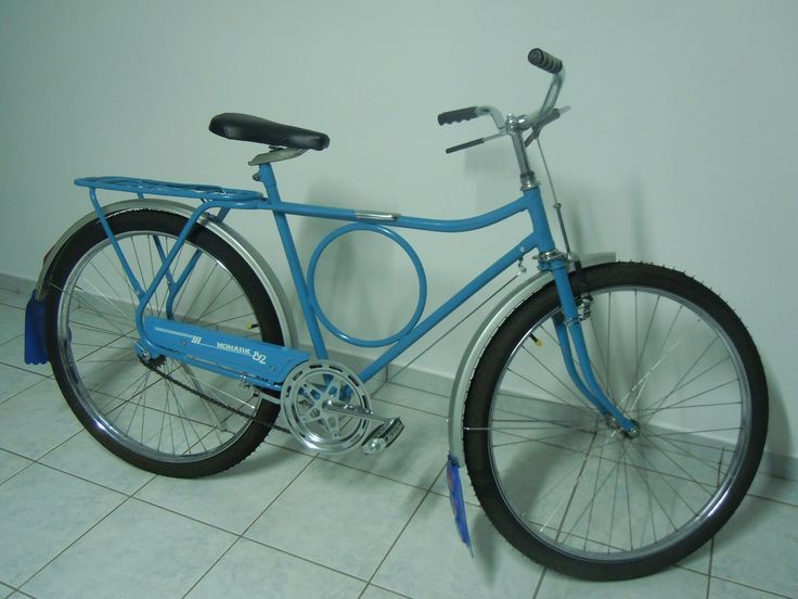 Bicicleta Monark Barra Circular dos anos 80