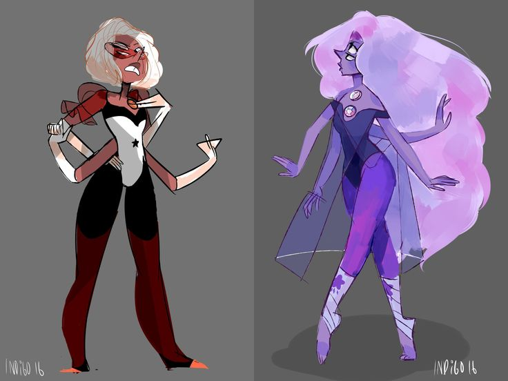 Yellow Pearl's Sardonyx and Blue Pearl's Opal | Steven Universe | Know Your Meme
