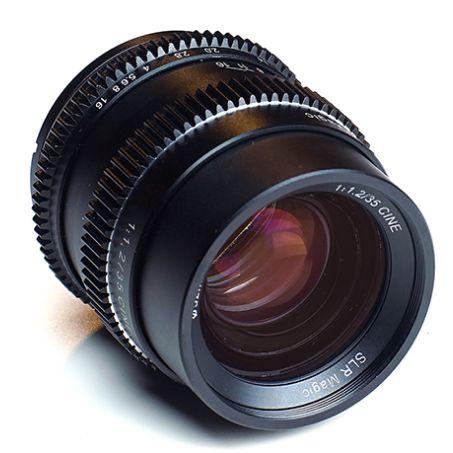 SLR Magic Announce New Full-Frame Sony E Mount 35mm f1.2 and 75mm f1.4 Cine Lenses