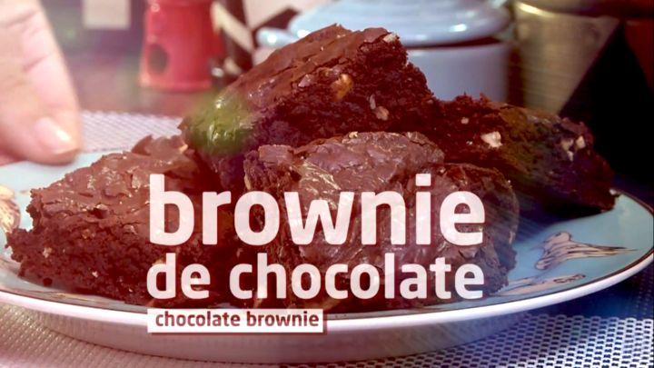 Faça em casa um brownie de chocolate incrível