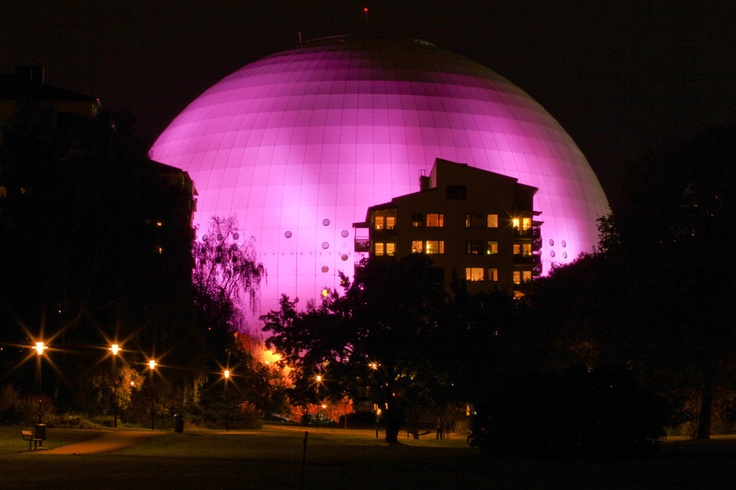 The Ericsson Globe Arena in Stockholm, Sweden