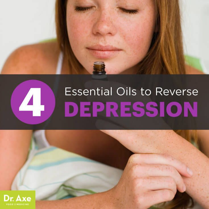 Essential oils for depression - Dr. Axe http://www.draxe.com #health #holistic #natural