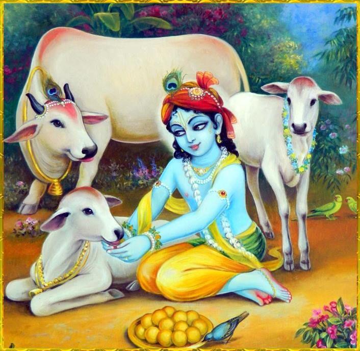 Gopal Krishna - Artist: Vasudeva Krishna das • Hare Krishna • Lord Krishna