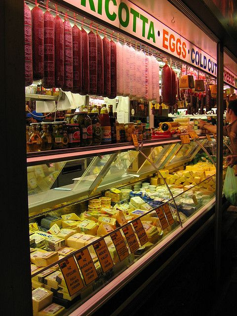 Cheeses at the Central Market, Adelaide, Australia. Photo: DAN via Flickr