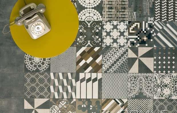 Piastrelle geometriche tendenza casa 2016 - Azulej, Mutina