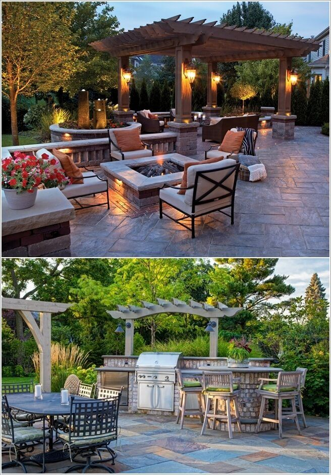 10 Wonderful Pergola Lighting Ideas Pergola Lighting Pergola