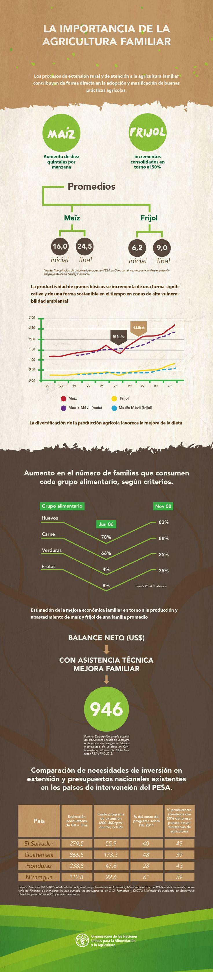 La Importancia de la Agricultura Familiar: Los procesos de extensión rural y de atención a la agricultura familiar son capaces de contribuir de forma directa en la adopción y masificación de buenas prácticas agrícolas.