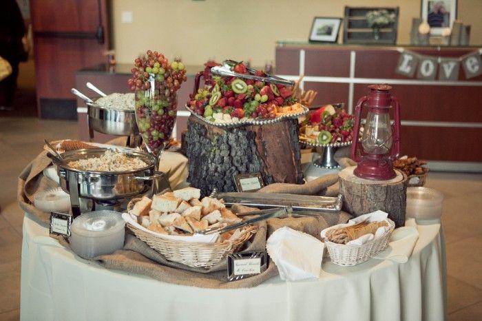 Burlap Wedding Theme | ... DIY Camping Themed Wedding (burlap, Fullerton, California) - Loverly