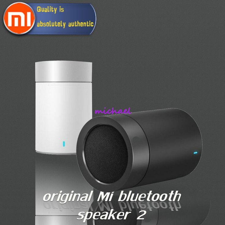 Original xiaomi speaker version 2 cannon TYMPHANY speaker 1200mah battery xiaomi bluetooth speaker 2ND PC + ABS material BT 4.1 Price: USD 27.59 | United States