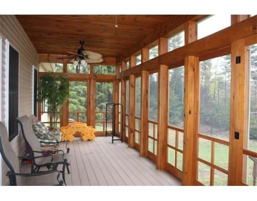 47 best screened porch images on pinterest for Outdoor screen room ideas