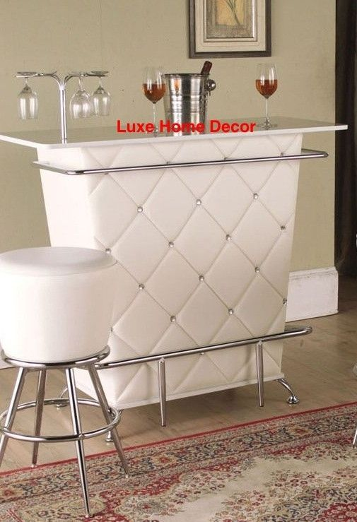 Winter Tufted Bar  Luxe Home Decor & Furnishings