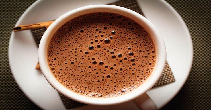 Superfood Hot Chocolate With Coconut Oil, Maca + Turmeric! via @dailyhealthpost