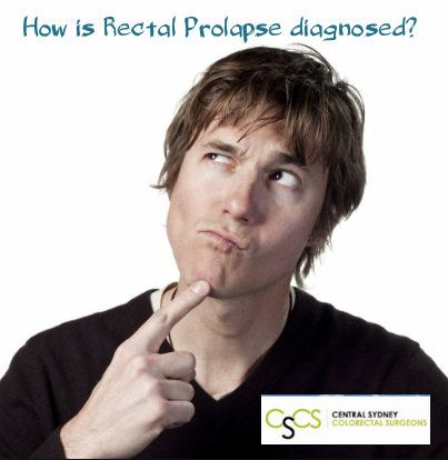 How is #rectalprolapse diagnosed? Read more http://bit.ly/2954Dl1