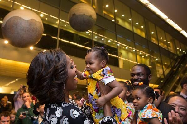 The First Lady at The US Embassy in China - March 2014