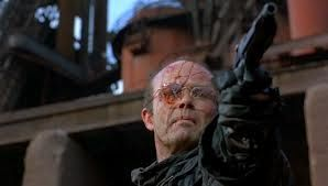 Kurtwood Smith as Clarence Boddicker in Robocop (Paul Verhoeven, 1987):  Highly accomplished character actor Smith will always be remembered for one of his career-best performances as a deadly criminal in Robocop's futuristic Detroit.  Of note is an excellent confrontational scene between Smith's character and a drug dealer played by Lee DeBroux that was largely improvised by the actors.
