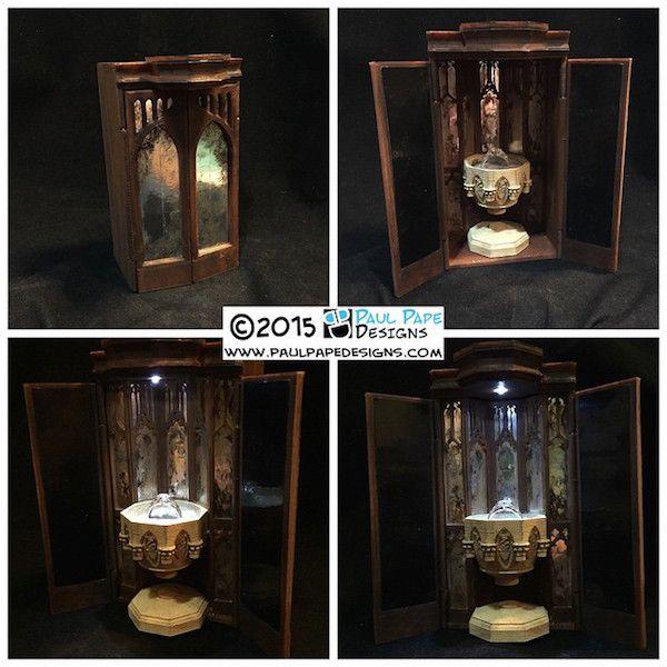 Custom 'Harry Potter' Pensieve Engagement Ring Box