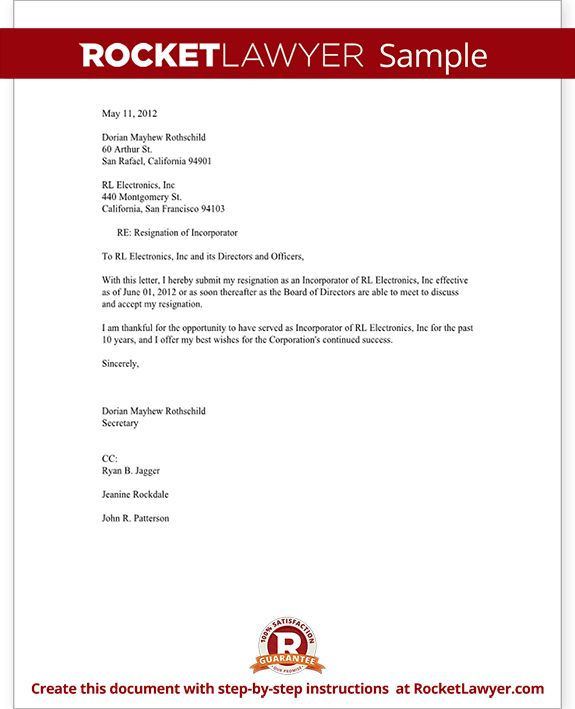 Oltre 25 fantastiche idee su Resignation sample su Pinterest - sample notice form