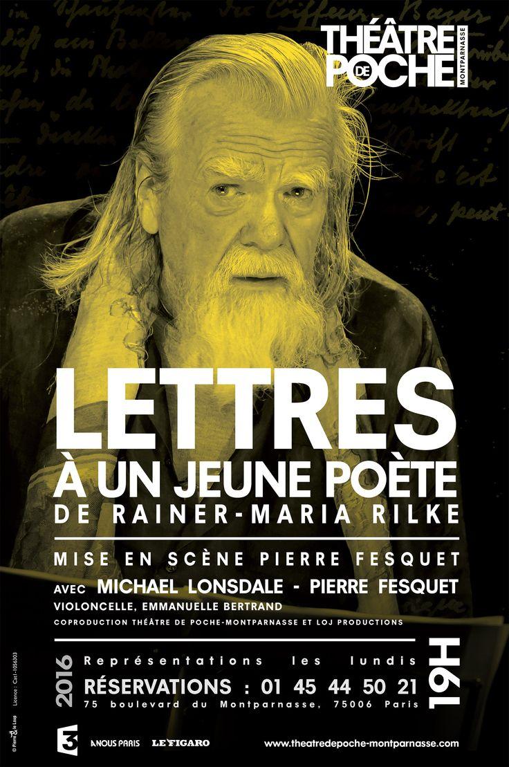 %%Michael Lonsdale partage la correspondance de Rilke avec un jeune homme qui lui demande s'il doit consacrer sa vie à la poésie%%