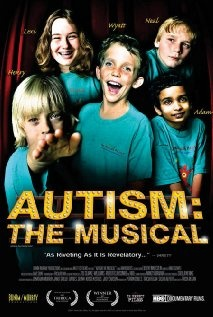 I purchased this movie even though I my daughter has cerebral palsy and not autism. There were so many universal themes that I could relate to being a parent with a child with special needs. I just wish more school districts would show these & the other movies to their staff to encourage sensitivity & empathy towards parents.This (HBO Documentary) DVD is wonderful!  Autism: The Musical Poster