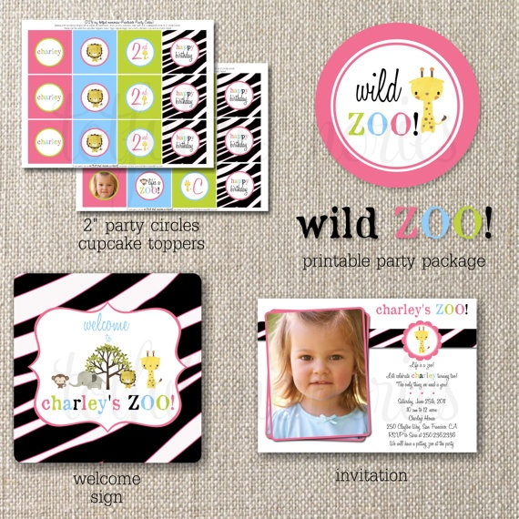 Girlie Zoo: Aria Birthday, Presley Birthday, Birthday Theme, Zoos Birthday Parties, Zoo Birthday Parties, 2Nd Birthday, Reagan Birthday, Birthday Ideas