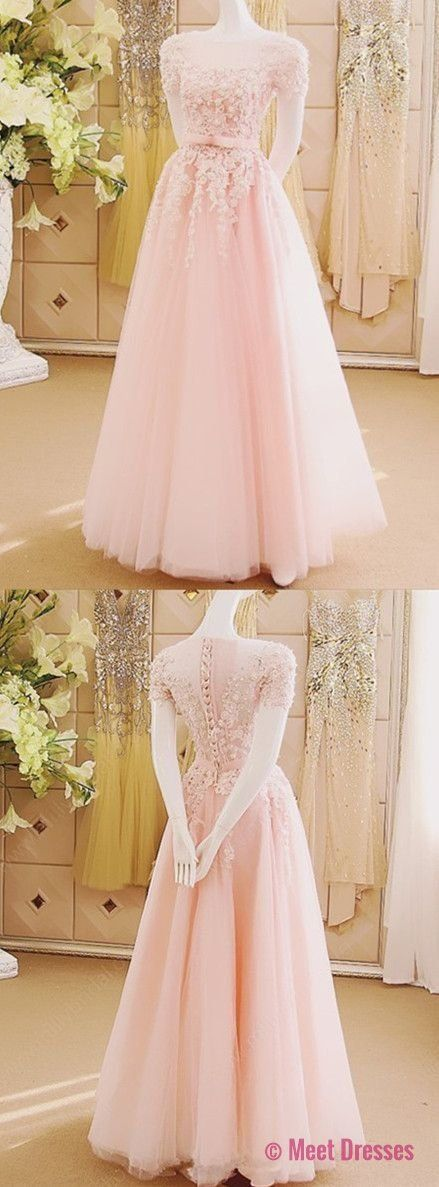 Prom Dresses,Pink Evening Gowns,Lace Formal Dresses,Prom Dresses,evening Gown,Beautiful Evening Dress,Pink Formal Dress,Lace Prom Gowns PD20187136