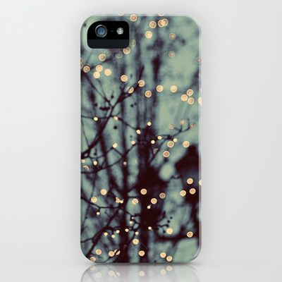 Winter Lights iPhone Case by Elle Moss - $35.00. There are lots of cute cases here.