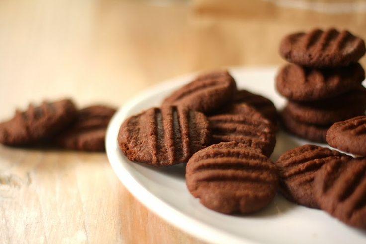 Výborné koka sušenky                           100g kokosu,  240g hladké mouky,  220g změklého másla,  1 žloutek, 120g moučkového cukru,   3 vrchovaté lžíce kakaa,  špetku soli