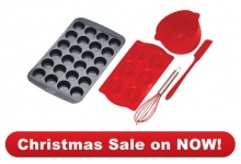 #MiniMuffin-24cup & Junoir Baking Set .  $40.00  www.dorothywilliams.thechefstoolbox.net