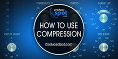 The majority of people know what Audio Compression is and what is does but the minority of people know how to use it. Learn how to use sound compression.