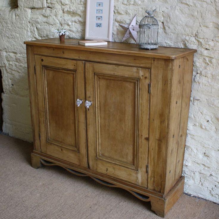 Vintage Pine Hall Cupboard | Cupboards | Furniture